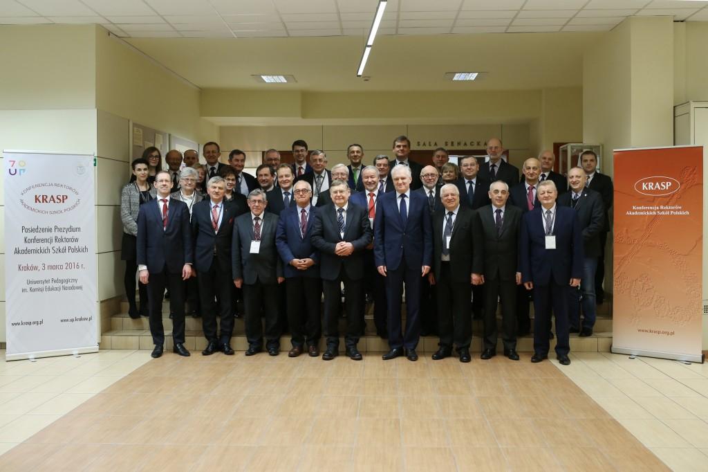 Posiedzenie Prezydium KRASP naUniwersytecie Pedagogicznym