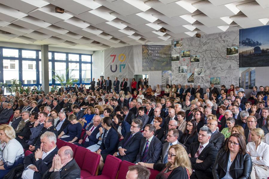 Uroczyste posiedzenie Senatu Uniwersytetu Pedagogicznego zokazji Jubileuszu 70-lecia Uczelni