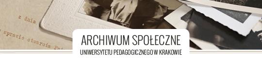 Archiwum Społeczne Uniwersytetu Pedagogicznego